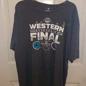 Western Conference Final 2019 Mens Tshirt sz 2XL